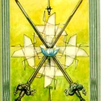2 of Swords — Laying down your Sword is the Real Battle