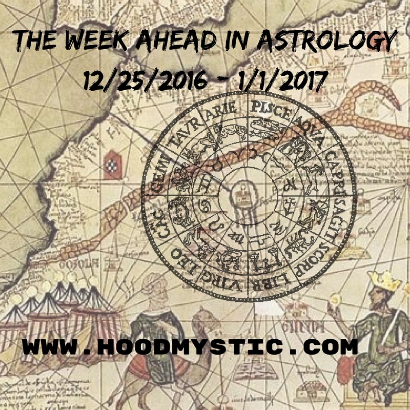 The Week Ahead in Astrology 12/25/2016 – 1/1/2017