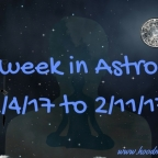 This week in Astrology 2/4/17 to 2/11/17