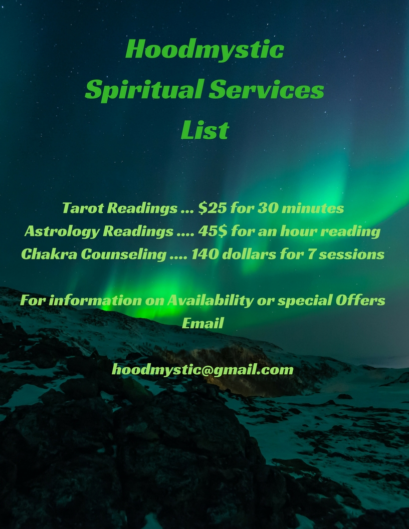 HoodmysticSpiritual ServicesList