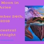 Full Moon in Aries | September 24th, 2018 | Ancestral Fortnight