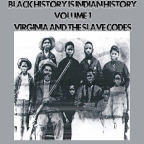 Black History is Indian History Volume 1 | Virginia and the Slave Codes