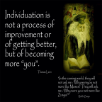 Individuation and the process of becoming Y O U